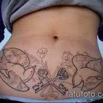 Фото Тату скрывающие растяжки (tattoo) (значение) - пример рисунка - 040 tatufoto.com