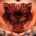 Фото Тату скрывающие растяжки (tattoo) (значение) - пример рисунка - 041 tatufoto.com