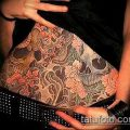 Фото Тату скрывающие растяжки (tattoo) (значение) - пример рисунка - 049 tatufoto.com