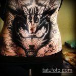 Фото Тату скрывающие растяжки (tattoo) (значение) - пример рисунка - 055 tatufoto.com