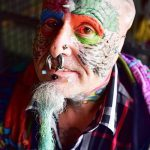 Фото Человек-попугай (Tattoo man-parrot) (значение) - пример рисунка - 004 tatufoto.com