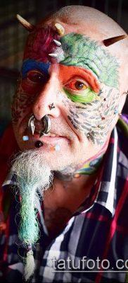 Фото Человек-попугай (Tattoo man-parrot) (значение) – пример рисунка – 004 tatufoto.com