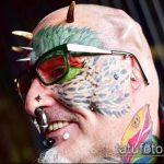 Фото Человек-попугай (Tattoo man-parrot) (значение) - пример рисунка - 007 tatufoto.com