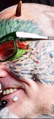 Фото Человек-попугай (Tattoo man-parrot) (значение) – пример рисунка – 007 tatufoto.com