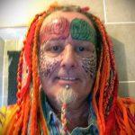 Фото Человек-попугай (Tattoo man-parrot) (значение) - пример рисунка - 016 tatufoto.com