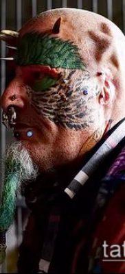 Фото Человек-попугай (Tattoo man-parrot) (значение) – пример рисунка – 021 tatufoto.com