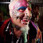 Фото Человек-попугай (Tattoo man-parrot) (значение) - пример рисунка - 022 tatufoto.com