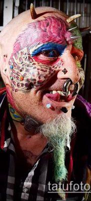 Фото Человек-попугай (Tattoo man-parrot) (значение) – пример рисунка – 022 tatufoto.com