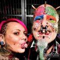 Фото Человек-попугай (Tattoo man-parrot) (значение) - пример рисунка - 023 tatufoto.com