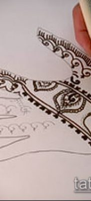 Фото Чем рисуют мехенди (Tattoo) (значение) – пример рисунка – 003 tatufoto.com