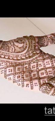 Фото Чем рисуют мехенди (Tattoo) (значение) – пример рисунка – 008 tatufoto.com