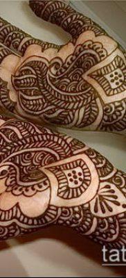 Фото Чем рисуют мехенди (Tattoo) (значение) – пример рисунка – 010 tatufoto.com