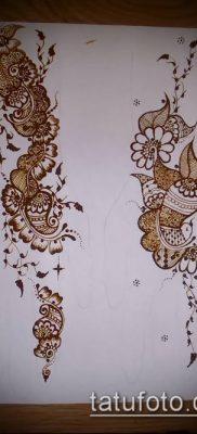 Фото Чем рисуют мехенди (Tattoo) (значение) – пример рисунка – 013 tatufoto.com