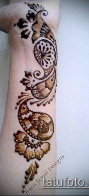Фото Чем рисуют мехенди (Tattoo) (значение) – пример рисунка – 014 tatufoto.com