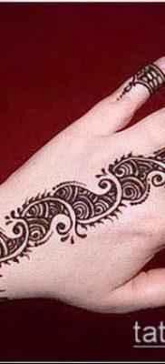 Фото Чем рисуют мехенди (Tattoo) (значение) – пример рисунка – 016 tatufoto.com