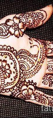 Фото Чем рисуют мехенди (Tattoo) (значение) – пример рисунка – 021 tatufoto.com