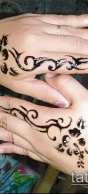 Фото Чем рисуют мехенди (Tattoo) (значение) – пример рисунка – 022 tatufoto.com