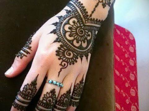 Фото Чем рисуют мехенди (Tattoo) (значение) - пример рисунка - 030 tatufoto.com