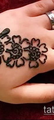 Фото Чем рисуют мехенди (Tattoo) (значение) – пример рисунка – 037 tatufoto.com