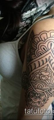 Фото индийские тат (India tattoos) (значение) – пример рисунка – 027 tatufoto.com