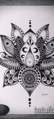 Фото индийские тат (India tattoos) (значение) – пример рисунка – 043 tatufoto.com