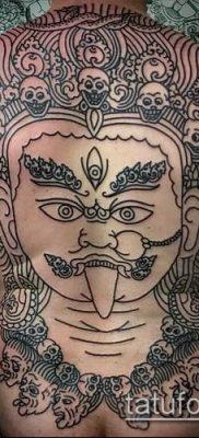 Фото индийские тат (India tattoos) (значение) – пример рисунка – 052 tatufoto.com
