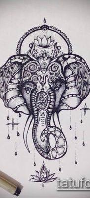 Фото индийские тат (India tattoos) (значение) – пример рисунка – 075 tatufoto.com