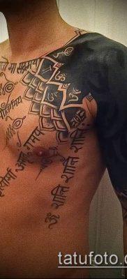 Фото индийские тат (India tattoos) (значение) – пример рисунка – 081 tatufoto.com