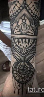 Фото индийские тат (India tattoos) (значение) – пример рисунка – 089 tatufoto.com