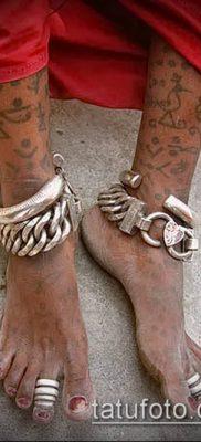 Фото индийские тат (India tattoos) (значение) – пример рисунка – 091 tatufoto.com
