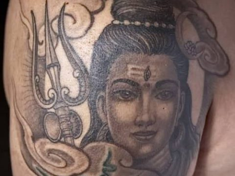 Фото индийские тат (India tattoos) (значение) - пример рисунка - 098 tatufoto.com