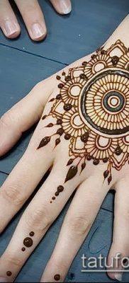 Фото рисунки хной (Tattoo drawings of hen) (значение) – пример рисунка – 005 tatufoto.com