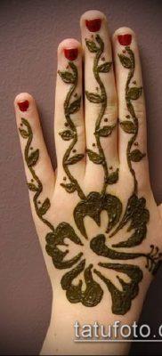 Фото рисунки хной (Tattoo drawings of hen) (значение) – пример рисунка – 008 tatufoto.com