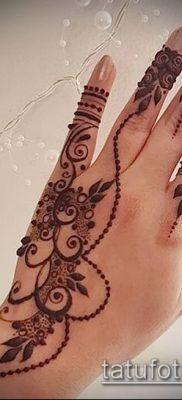 Фото рисунки хной (Tattoo drawings of hen) (значение) – пример рисунка – 016 tatufoto.com