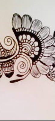 Фото рисунки хной (Tattoo drawings of hen) (значение) – пример рисунка – 017 tatufoto.com 2346