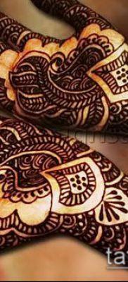 Фото рисунки хной (Tattoo drawings of hen) (значение) – пример рисунка – 022 tatufoto.com