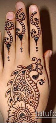 Фото рисунки хной (Tattoo drawings of hen) (значение) – пример рисунка – 024 tatufoto.com
