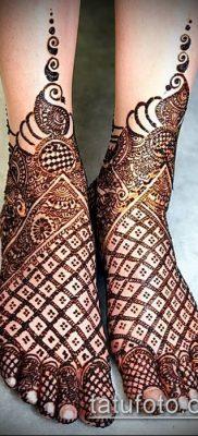 Фото рисунки хной (Tattoo drawings of hen) (значение) – пример рисунка – 028 tatufoto.com