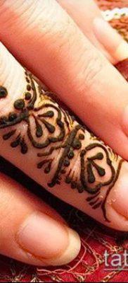 Фото рисунки хной (Tattoo drawings of hen) (значение) – пример рисунка – 030 tatufoto.com