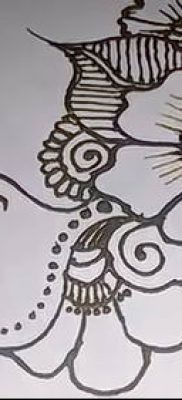 Фото рисунки хной (Tattoo drawings of hen) (значение) – пример рисунка – 035 tatufoto.com