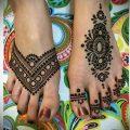Фото рисунки хной (Tattoo drawings of hen) (значение) - пример рисунка - 039 tatufoto.com