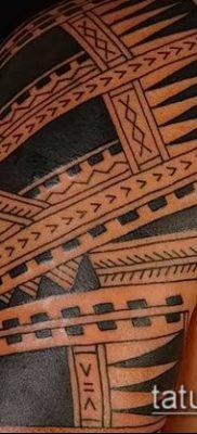 Фото самоанских тату (tattoo Samoa) (значение) – пример рисунка – 017 tatufoto.com