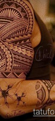 Фото самоанских тату (tattoo Samoa) (значение) – пример рисунка – 025 tatufoto.com