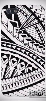 Фото самоанских тату (tattoo Samoa) (значение) – пример рисунка – 052 tatufoto.com