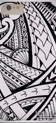 Фото самоанских тату (tattoo Samoa) (значение) – пример рисунка – 053 tatufoto.com