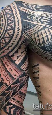 Фото самоанских тату (tattoo Samoa) (значение) – пример рисунка – 076 tatufoto.com