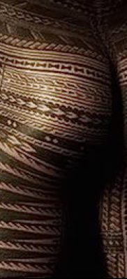 Фото самоанских тату (tattoo Samoa) (значение) – пример рисунка – 081 tatufoto.com
