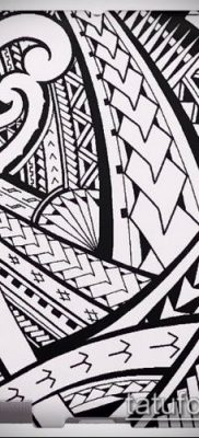 Фото самоанских тату (tattoo Samoa) (значение) – пример рисунка – 084 tatufoto.com