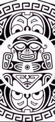 Фото самоанских тату (tattoo Samoa) (значение) – пример рисунка – 089 tatufoto.com