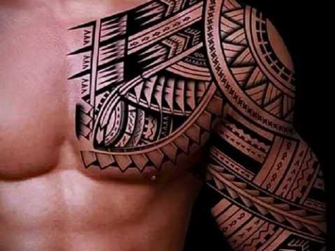 Фото самоанских тату (tattoo Samoa) (значение) - пример рисунка - 092 tatufoto.com